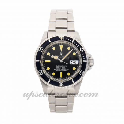 Mens Rolex Submariner 1680 40mm Case Mechanical (Automatic) Movement Black Dial