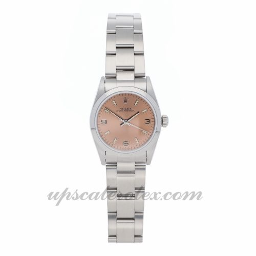 Ladies Rolex Oyster Perpetual 67480 31mm Case Mechanical (Automatic) Movement Pink Dial