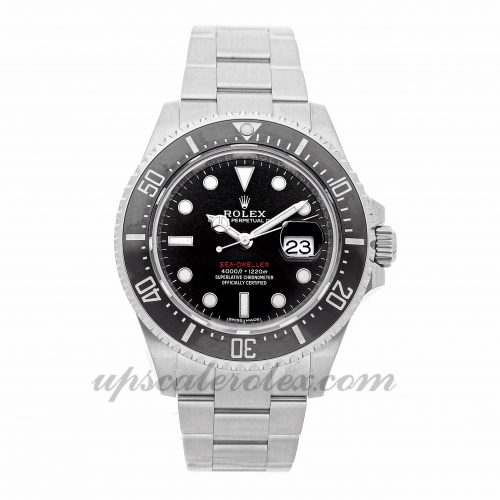 Mens Rolex Sea-dweller 4000 126600 43mm Case Mechanical (Automatic) Movement Black Dial
