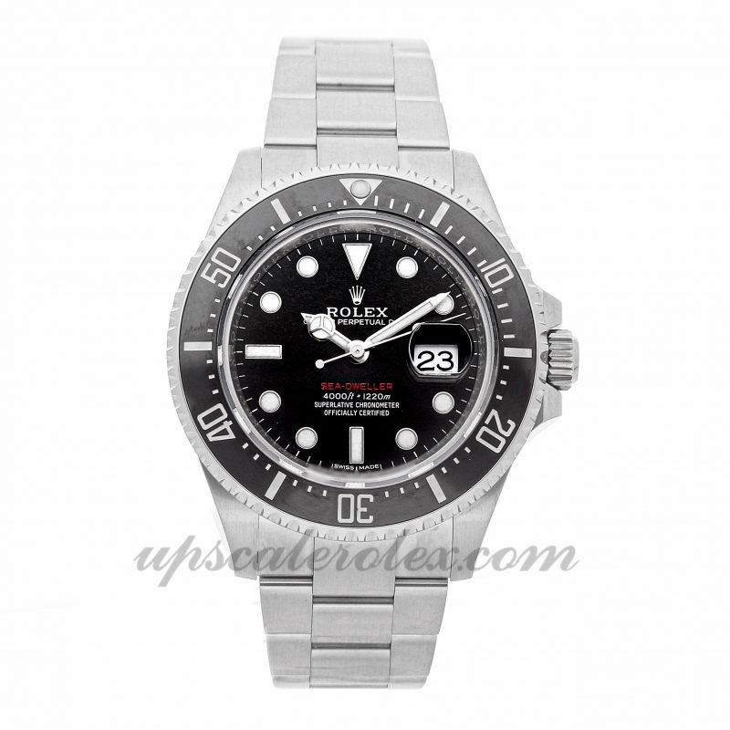 Mens Rolex Sea-dweller 4000 126600 43mm Case Mechanical (Automatic) Movement Black Dial