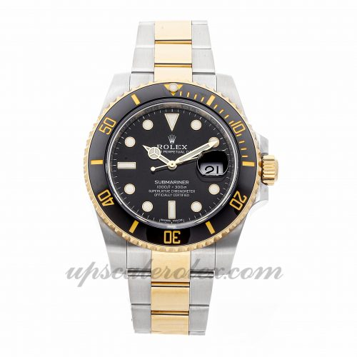 Mens Rolex Submariner 116613ln 40mm Case Mechanical (Automatic) Movement Black Dial
