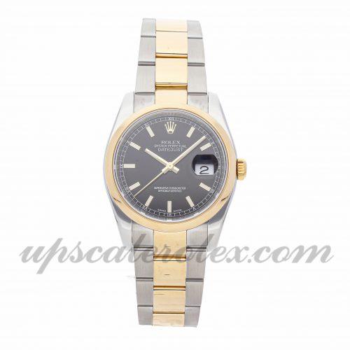 Mens Rolex Datejust 116203 36mm Case Mechanical (Automatic) Movement Black Dial