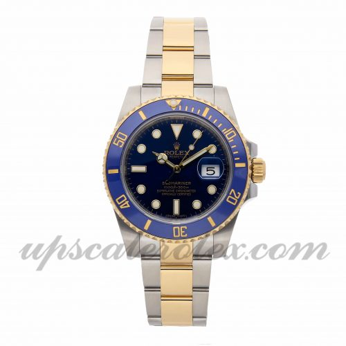 Mens Rolex Submariner 116613lb 40mm Case Mechanical (Automatic) Movement Blue Dial