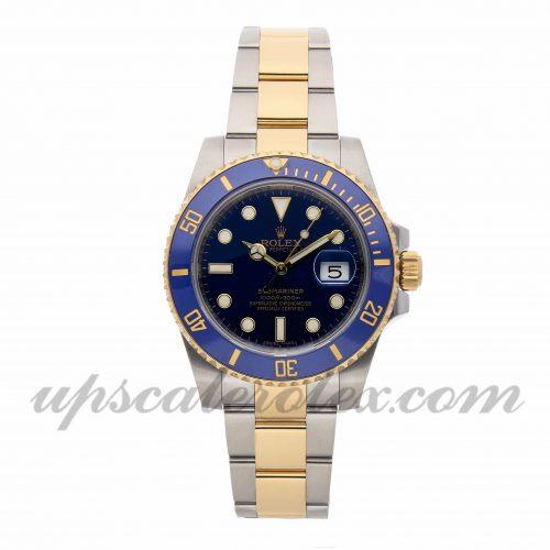 Mens Rolex Submariner 116613lb 40mm Case Mechanical (Automatic) Movement Blue Dial