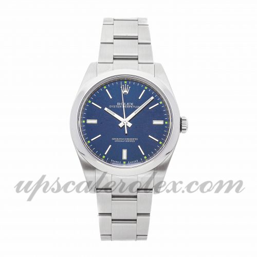 Mens Rolex Oyster Perpetual 114300 39mm Case Mechanical (Automatic) Movement Blue Dial