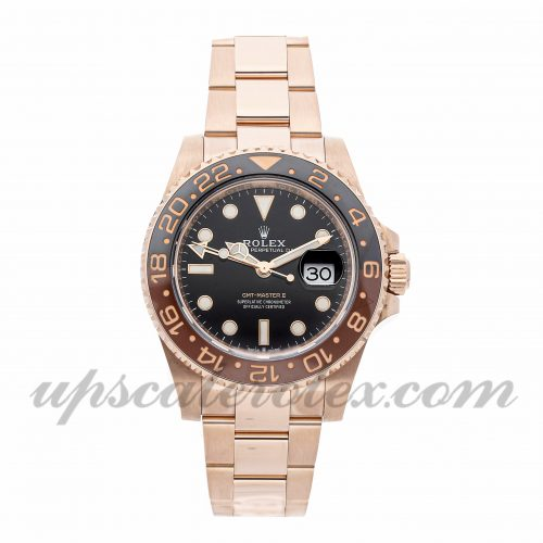 Mens Rolex Gmt-master Ii 126715chnr 40mm Case Mechanical (Automatic) Movement Black Dial
