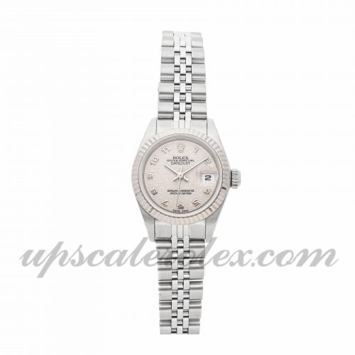 Ladies Rolex Datejust 69174 26mm Case Mechanical (Automatic) Movement Ivory Dial