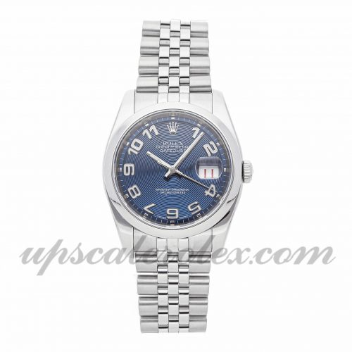 Mens Rolex Datejust 116200 36mm Case Mechanical (Automatic) Movement Blue Dial