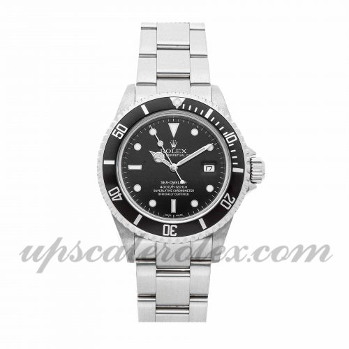 Mens Rolex Sea-dweller 4000 16600 40mm Case Mechanical (Automatic) Movement Black Dial