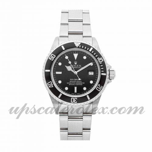 Mens Rolex Sea-dweller 4000 16600 40mm Case Mechanical (Automatic) Movement Black Dial
