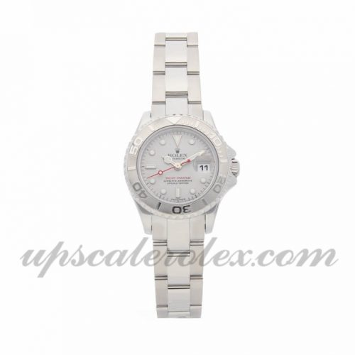 Ladies Rolex Yacht-master 169622 29mm Case Mechanical (Automatic) Movement Platinun Dial