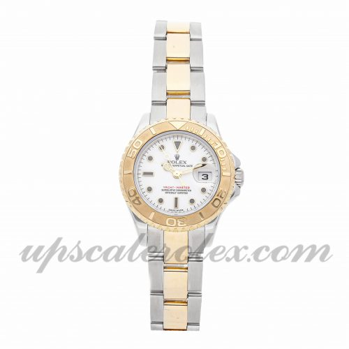 Ladies Rolex Yacht-master 169623 29mm Case Mechanical (Automatic) Movement White Dial