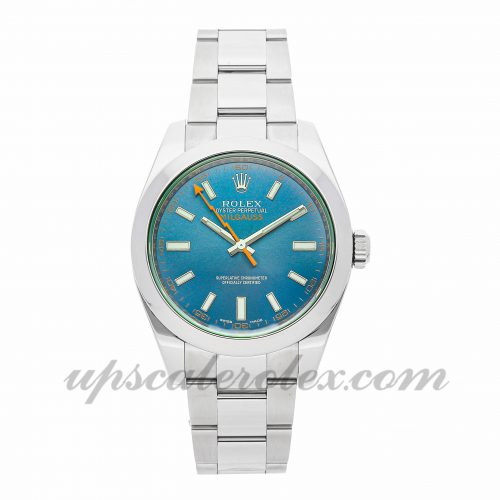 Mens Rolex Milgauss 116400v 40mm Case Mechanical (Automatic) Movement Blue Dial