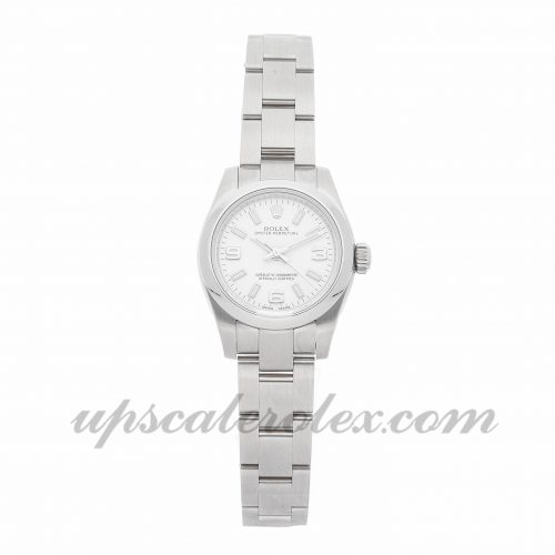 Ladies Rolex Oyster Perpetual 176200 26mm Case Mechanical (Automatic) Movement Silver Dial