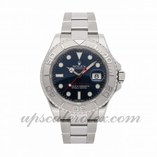 Mens Rolex Yacht-master 116622 40mm Case Mechanical (Automatic) Movement Blue Dial