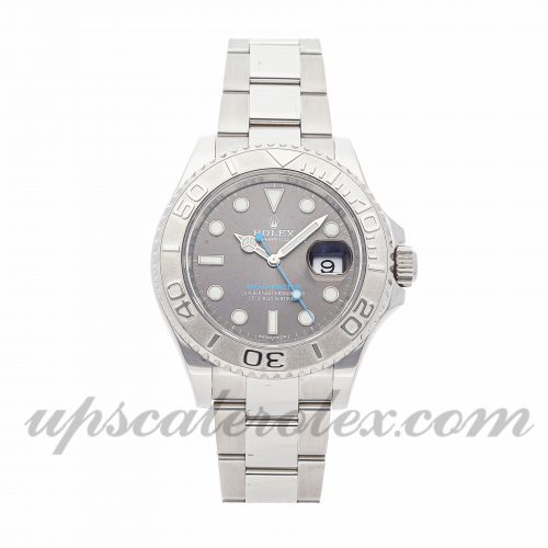 Mens Rolex Yacht-master 116622 40mm Case Mechanical (Automatic) Movement Rhodium Dial