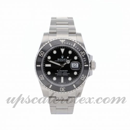 Mens Rolex Submariner 116610ln 40mm Case Mechanical (Automatic) Movement Black Dial