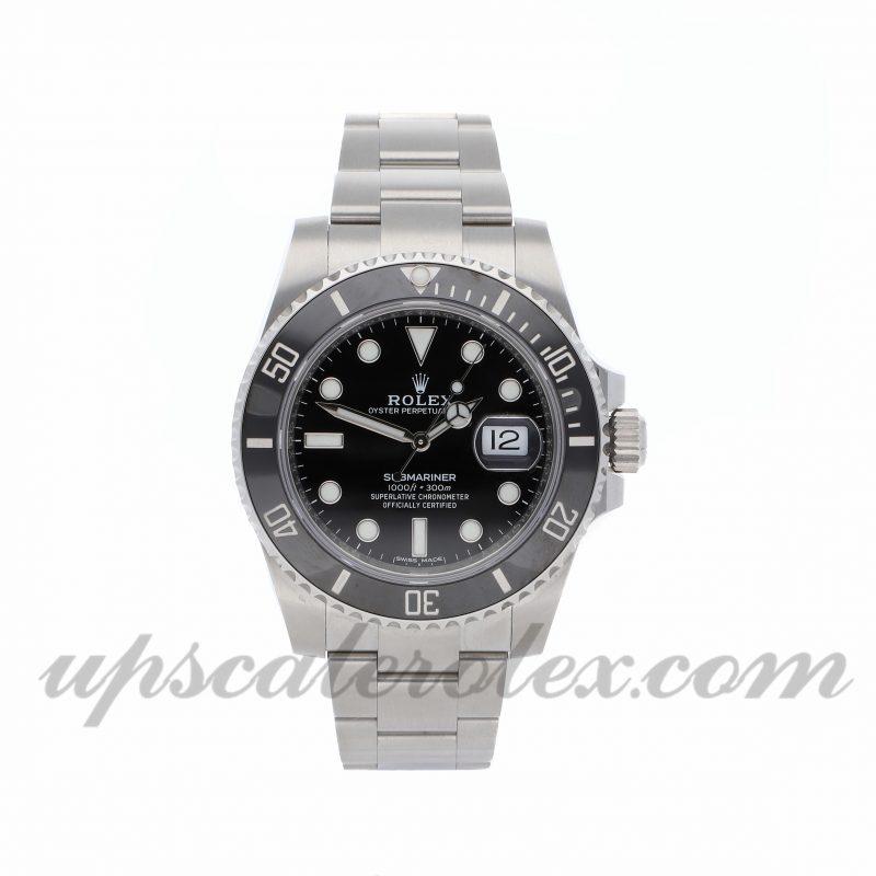 Mens Rolex Submariner 116610ln 40mm Case Mechanical (Automatic) Movement Black Dial