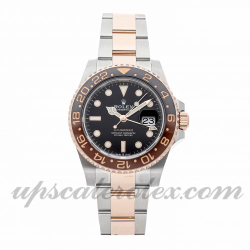 Mens Rolex Gmt-master Ii 126711chnr 40mm Case Mechanical (Automatic) Movement Black Dial