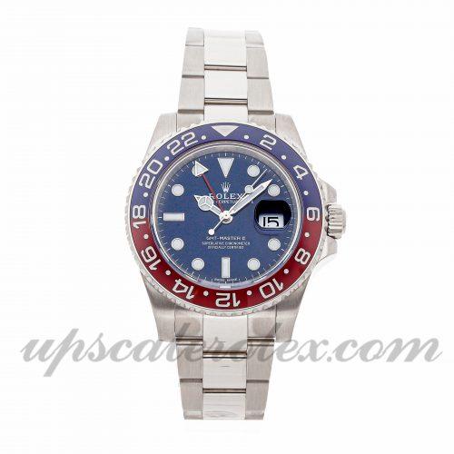 Mens Rolex Gmt Master Ii 116719blro 40mm Case Mechanical (Automatic) Movement Blue Dial
