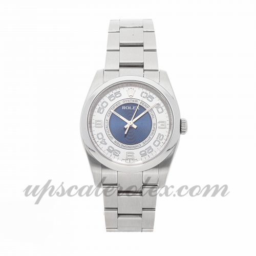 Mens Rolex Oyster Perpetual 116000 36mm Case Mechanical (Automatic) Movement Silver Dial
