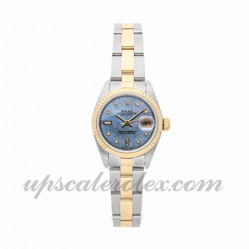 Ladies Rolex Datejust 79173 26mm Case Mechanical (Automatic) Movement Blue Dial