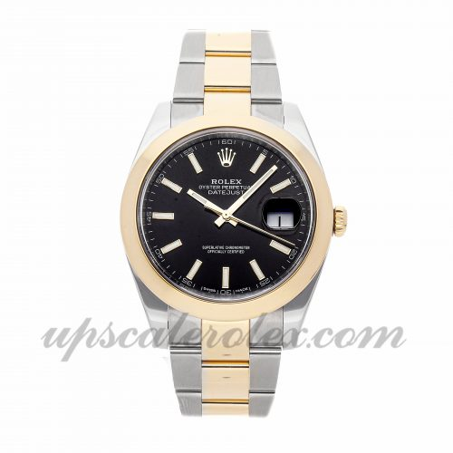 Mens Rolex Datejust 41 126303 41mm Case Mechanical (Automatic) Movement Black Dial