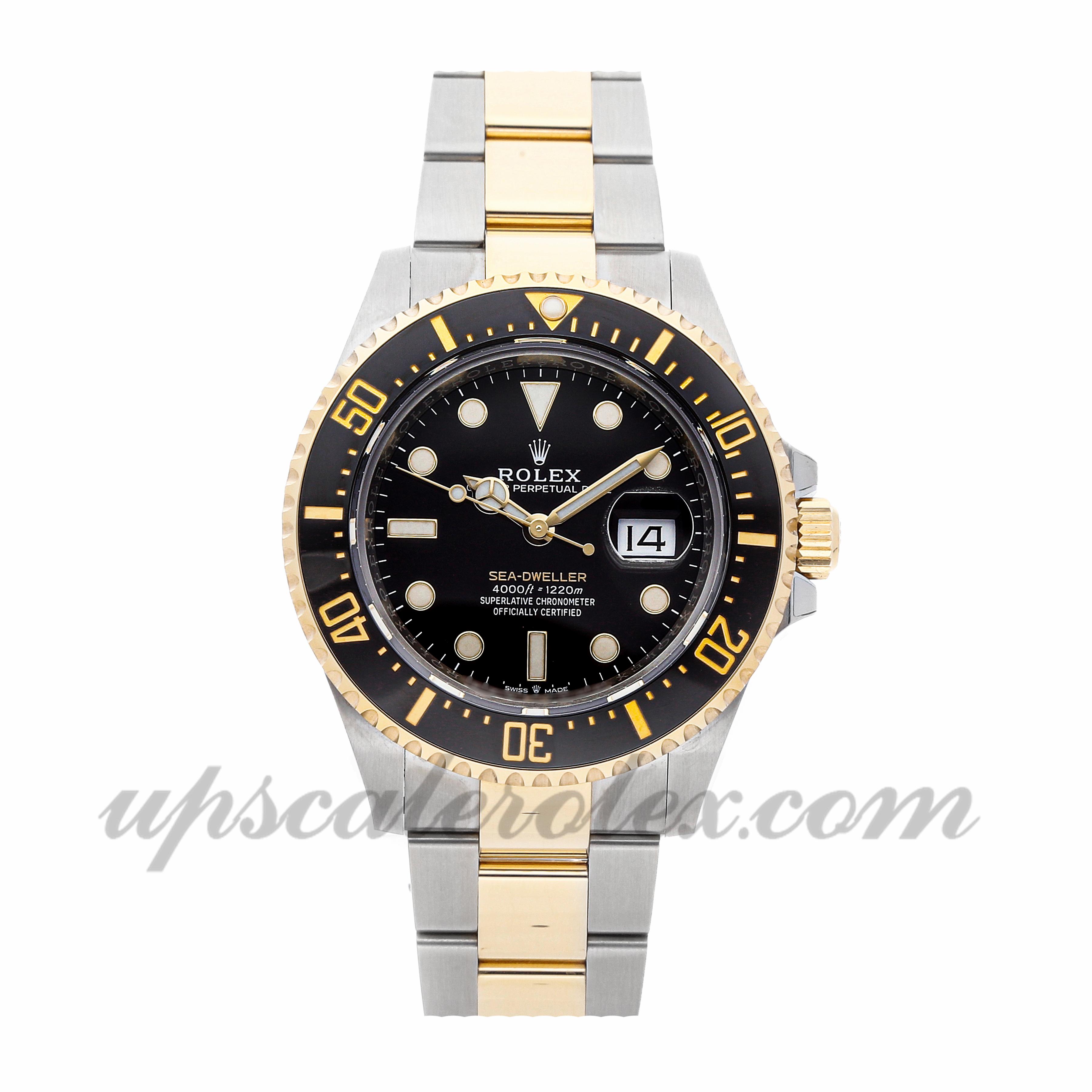 Mens Rolex Sea,dweller 126603 43mm Case Mechanical (Automatic) Movement  Black Dial