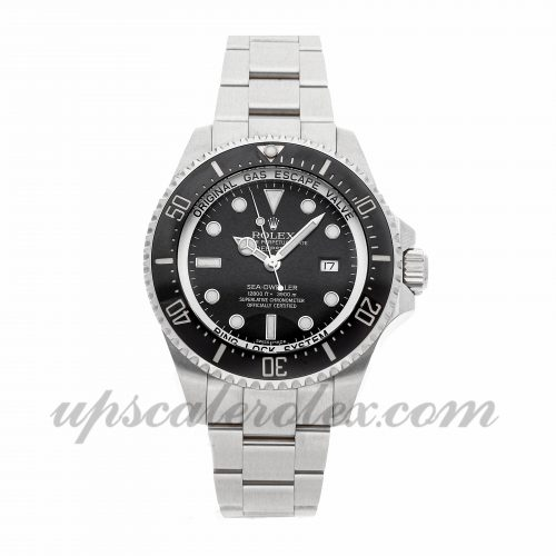 Mens Rolex Sea-dweller Deepsea 116660 44mm Case Mechanical (Automatic) Movement Black Dial