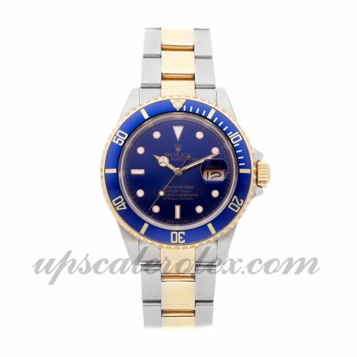 Mens Rolex Submariner 16613 40mm Case Mechanical (Automatic) Movement Blue Dial