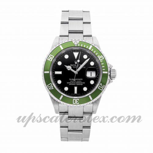 Mens Rolex Submariner 16610lv 40mm Case Mechanical (Automatic) Movement Black Dial