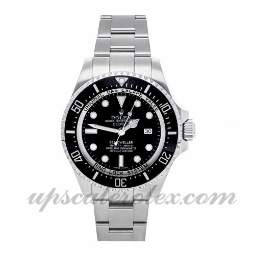 Mens Rolex Sea-dweller Deepsea 116660 44mm Case Mechanical (Automatic) Movement Dial
