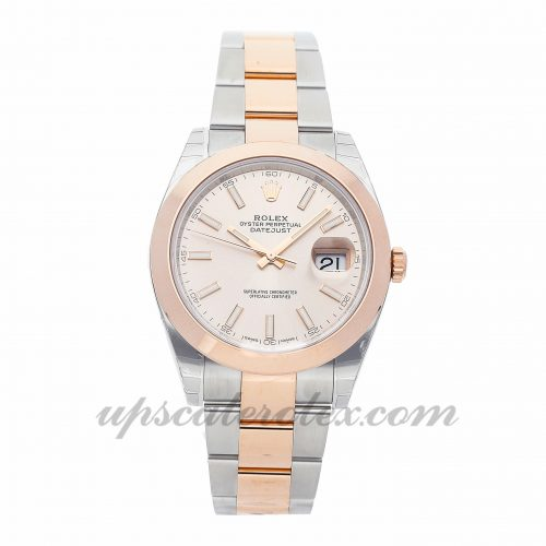 Mens Rolex Datejust Ii 126301 41mm Case Mechanical (Automatic) Movement Silver Dial