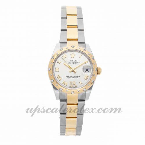 Ladies Rolex Datejust 178343 31mm Case Mechanical (Automatic) Movement Silver Dial