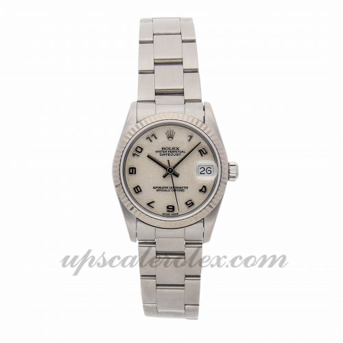 Ladies Rolex Datejust 68274 31mm Case Mechanical (Automatic) Movement Ivory Dial