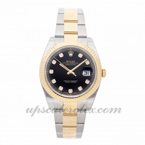 Mens Rolex Datejust 41 126333 41mm Case Mechanical (Automatic) Movement Black Dial