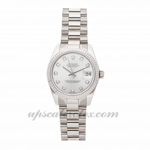 Ladies Rolex Datejust 178279 31mm Case Mechanical (Automatic) Movement Silver Dial