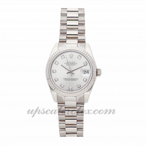 Ladies Rolex Datejust 178279 31mm Case Mechanical (Automatic) Movement Silver Dial