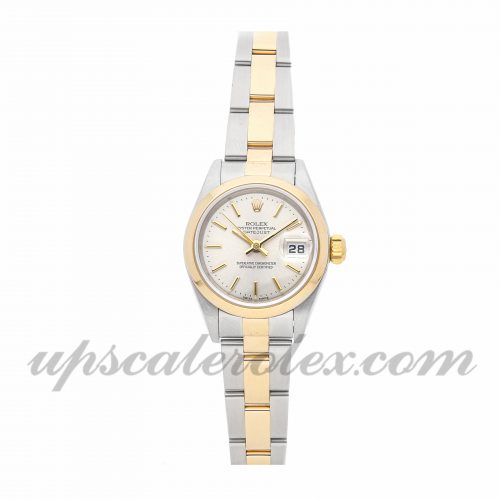 Ladies Rolex Datejust 79163 26mm Case Mechanical (Automatic) Movement Silver Dial