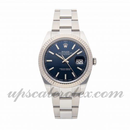 Mens Rolex Datejust 41 126334 41mm Case Mechanical (Automatic) Movement Blue Dial