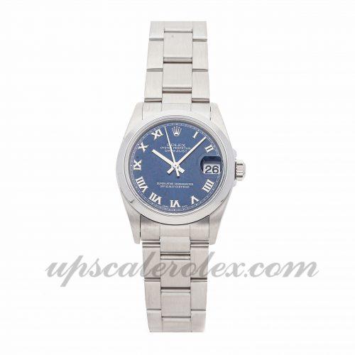 Ladies Rolex Datejust 8240 31mm Case Mechanical (Automatic) Movement Blue Dial