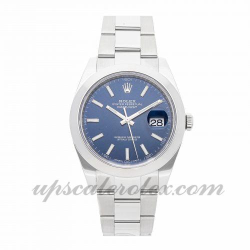 Mens Rolex Datejust 41 126300 41mm Case Mechanical (Automatic) Movement Blue Dial