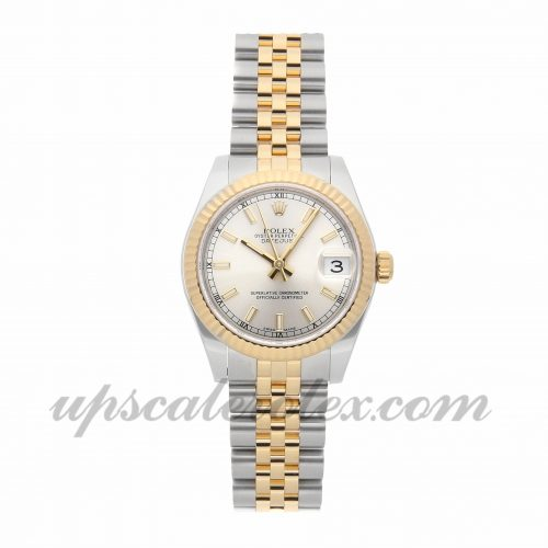 Ladies Rolex Datejust 178273 31mm Case Mechanical (Automatic) Movement Silver Dial
