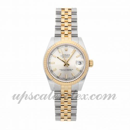 Ladies Rolex Datejust 178273 31mm Case Mechanical (Automatic) Movement Silver Dial