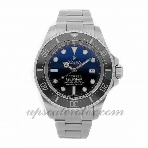 Fake Shopping Websites List 2017 Rolex Deepsea Sea-dweller 116660 44mm Black Dial