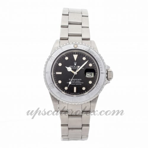 Replica Watch Info Rolex Submariner 16800 40mm Black Dial