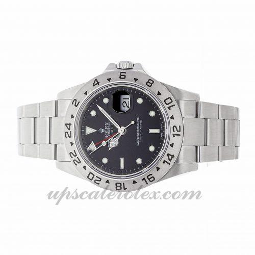 Replica Watch Info Rolex Explorer Ii 16570 40mm Black Dial