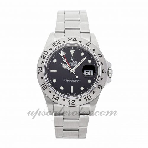 Replica Watch Info Rolex Explorer Ii 16570 40mm Black Dial