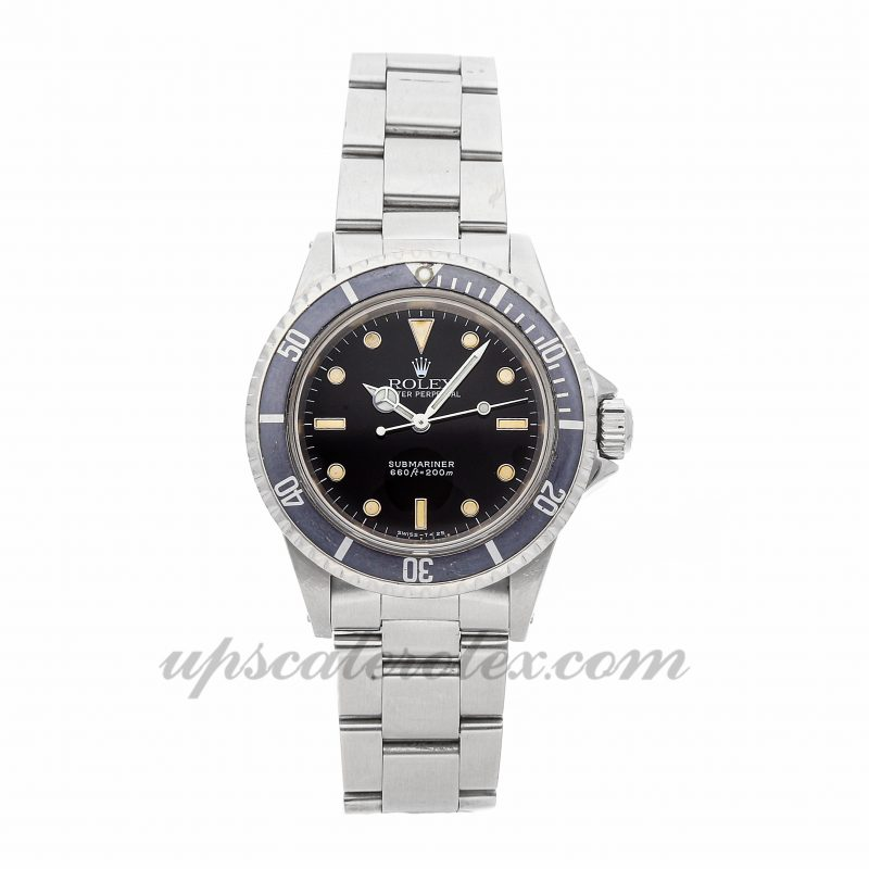 Replica Watch Rolex Vintage Submariner 5513 40mm Black Dial