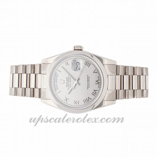 High Quality Replica Watches Rolex Day-date 118209 36mm Rhodium Dial